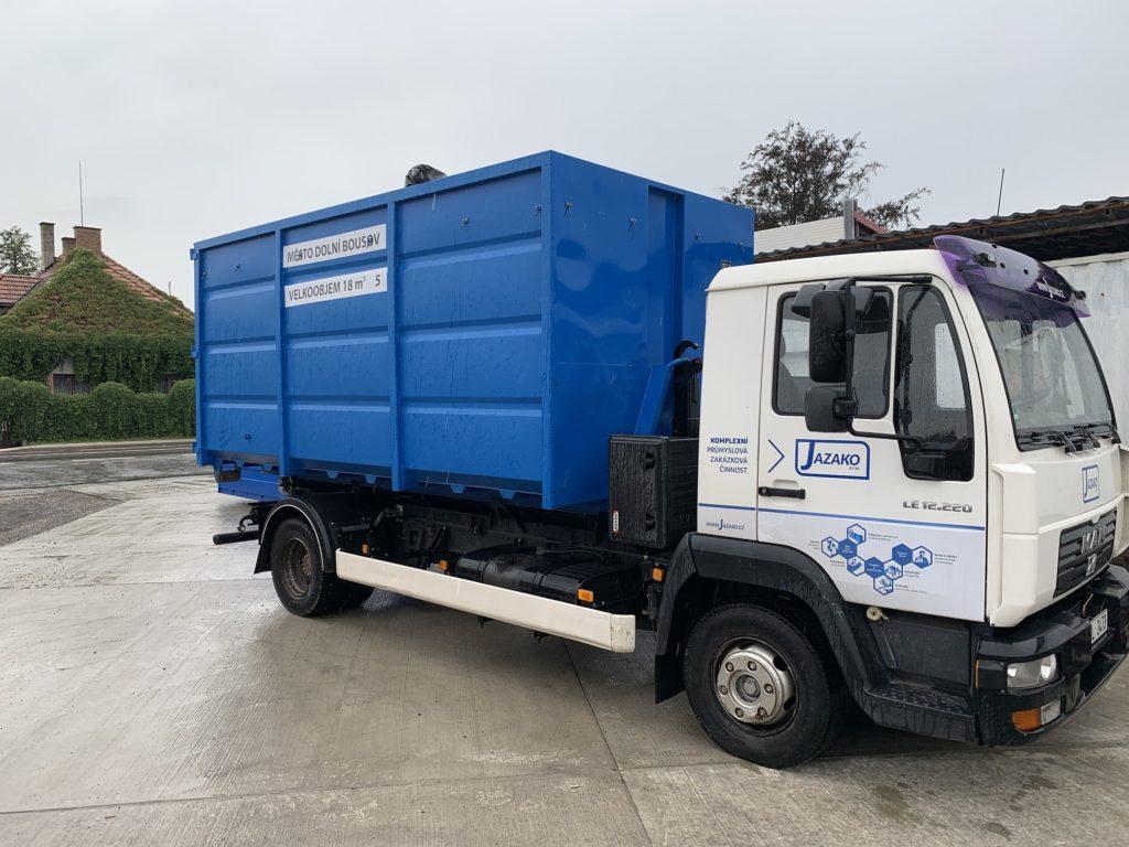 Výroba kontejnerů dle požadavků zákazníka.